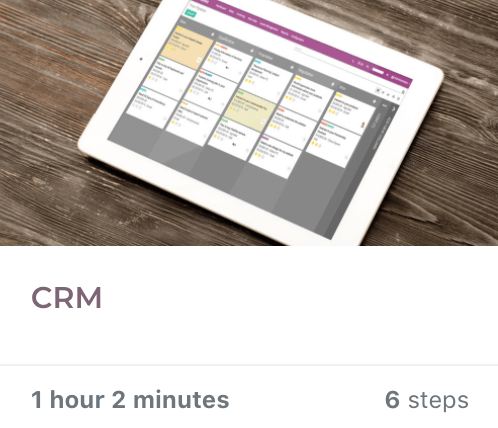 CRM Learn - Odoo Learning