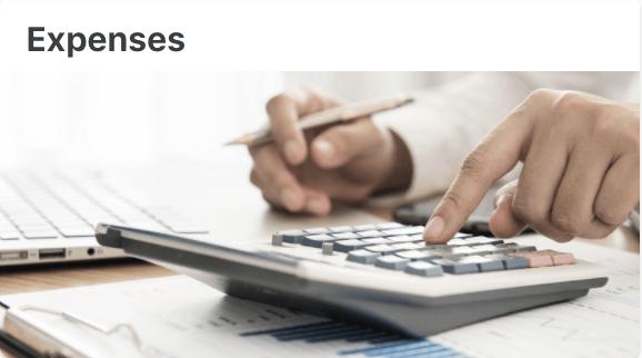 Expenses - User Documentation