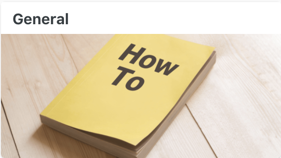 General - User Documentation