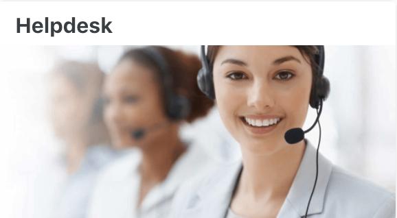 Helpdesk - User Documentation