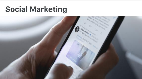 Social Marketing - User Documentation